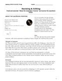 STAAR EOC English I/II - Revising & Editing + Poetry