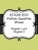 STAAR EOC Question Stems - Fiction - English 1 & 2