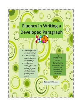 STAAR EXPOSITORY ESSAY: Fluency in Developing a Paragraph
