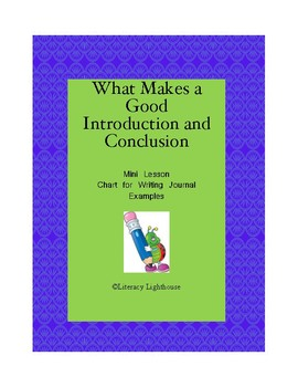 STAAR EXPOSITORY WRITING: What Makes a Good Introduction and Conclusion