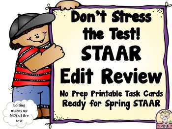 STAAR Edit Practice
