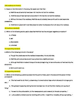 STAAR English 1 Benchmark - fiction, non-fiction, revising, editing, composition