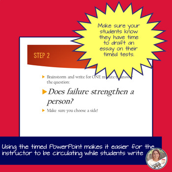 STAAR English I EOC 11 Minute Essay Expository Practice- Failure