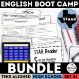 STAAR English I & II Boot Camp Bundle