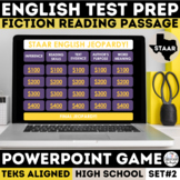 STAAR English I & II PowerPoint Jeopardy Game - Fiction