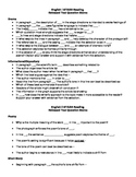 STAAR English I, II, and III Reading and Writing Test Sentence Stems