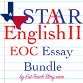 STAAR English II EOC Persuasive Essay Outline Kit