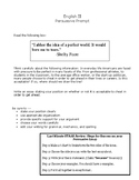 STAAR English II Persuasive Prompt & Outline Review