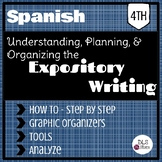 Spanish Expository Writing - Understanding, planning, and