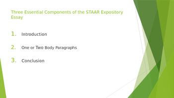 STAAR Expository Essay Essentials