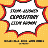 STAAR Expository Essay Prompt: Cell Phone Usage