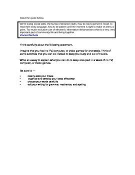 expository essays topics