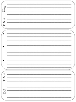 STAAR Expository Writing Graphic Organizer