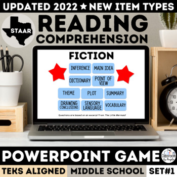 STAAR Fiction PowerPoint Game