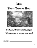 STAAR Fourth Grade Math Review Unit- Pirate Themed