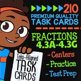 STAAR Fractions ★ 4.3A-4.3G ★ TEK-Aligned Math ★ 4th Grade STAAR Math Review