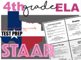 STAAR Reading Test Prep Genre Strategy Cards