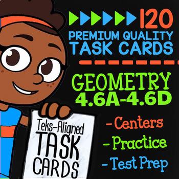 STAAR Geometry ★ 4.6A-4.6D ★ TEK-Aligned Math ★ 4th Grade STAAR Math Review