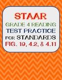 STAAR Grade 4 Reading Test Practice for Standards Fig. 19,