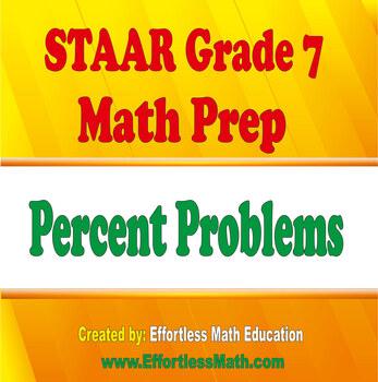 STAAR Grade 7 Math Prep: Percent Problems
