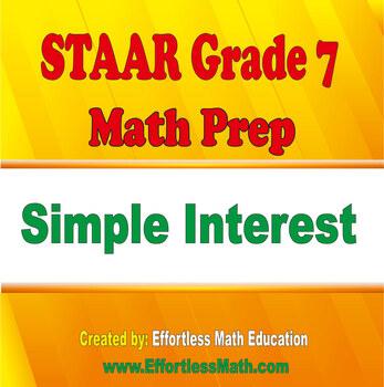 STAAR Grade 7 Math Prep: Simple Interest