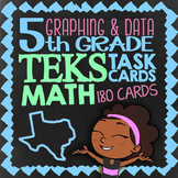 Graphing & Data ★ Math TEK 5.8A 5.8B 5.8C 5.9A 5.9B & 5.9C ★ TEK Math Task Cards