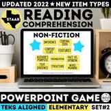 STAAR Informational Text PowerPoint Game Grades 3-5