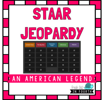 STAAR Jeopardy: An American Legend (2014 Released Test)