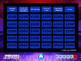 STAAR Jeopardy Review Game- 4th Grade Reading