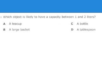 STAAR Like Measurement Practice Questions