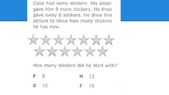 STAAR Like Multi-step Review Questions