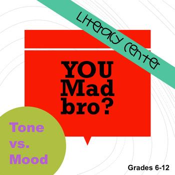 STAAR Literacy Center:  Tone v Mood