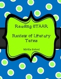 STAAR Literary Terms Review Sheet