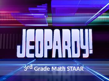 STAAR MATH JEOPARDY