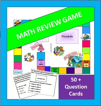 4th Grade STAAR Review Board Game - New TEKS!