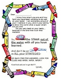 STAAR MOTIVATION LETTER/ BLOWPOP AND AIRHEADS