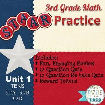 STAAR Math 3rd Grade (Math STAAR Practice Pack)