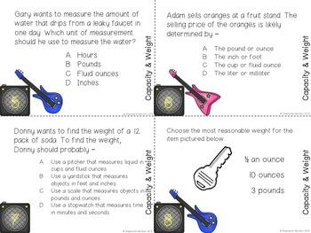 STAAR Math 3rd Test Prep BUNDLE All Categories