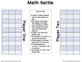 STAAR Math 5th Grade Math Battle Game