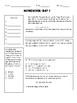 STAAR Math 6th Grade Prep Packet