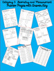 STAAR Math Blitz: 4th Grade BUNDLE of  Reporting Category Sets 1-4