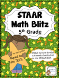 STAAR Math Blitz Grade 5:  Updated!