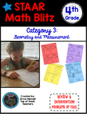STAAR Math Blitz Reporting Category #3: Geometry and Measurement 4th Grade TEKS