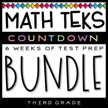 3rd Grade Math TEKS - Test Prep Countdown