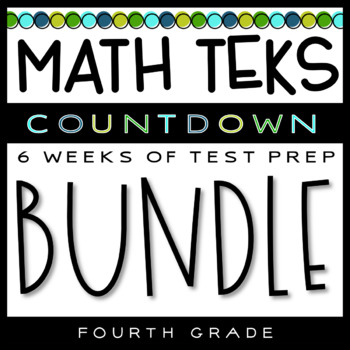 4th Grade Math TEKS - Test Prep Countdown