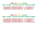 FREE STAAR Math Extra Practice 3rd & 4th Grade
