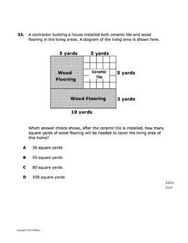STAAR Math Grade 3 Practice B TEST