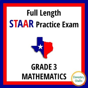 STAAR Math Grade 3 Practice Test