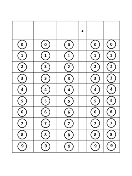 STAAR Math Grid Gr 4 & 5