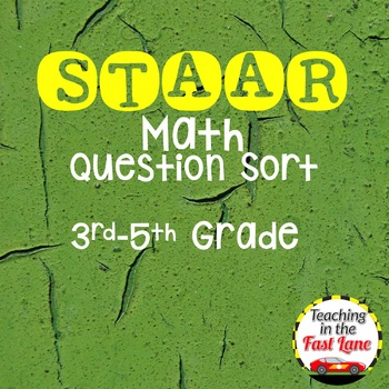 STAAR Math Questions Sort